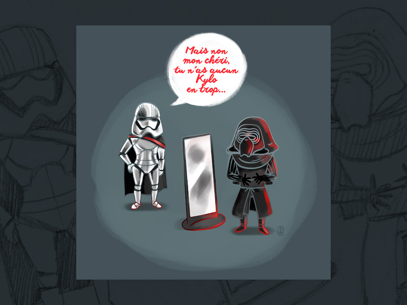 Carte Star Wars pour la Saint-Valentin