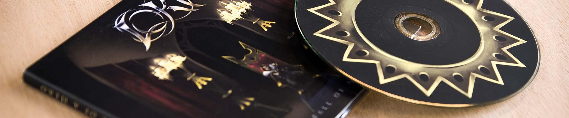Graphiste, création de pochette de CD à Mâcon, Chalon