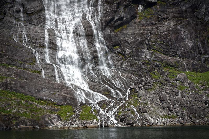Photographie de cascade
