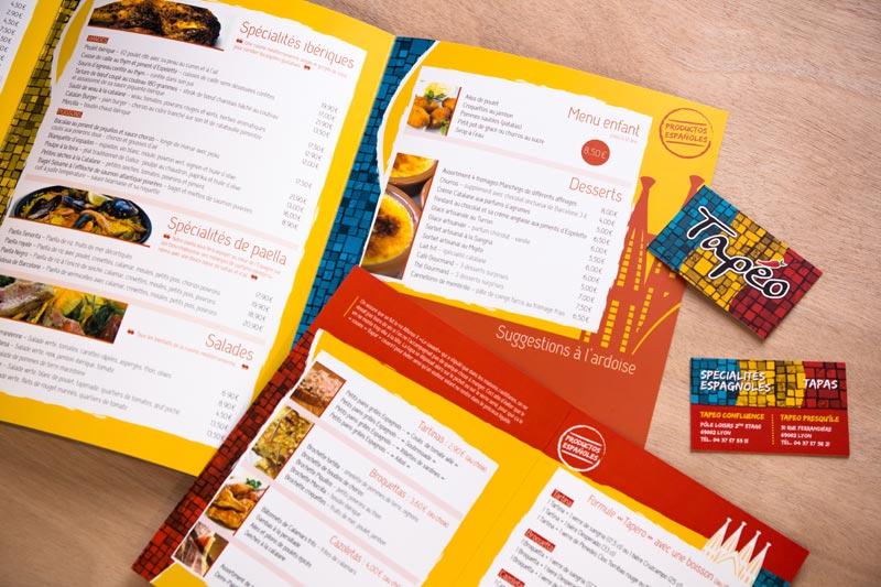 Graphiste pour la création de vos cartes de restaurant à Mâcon (71)