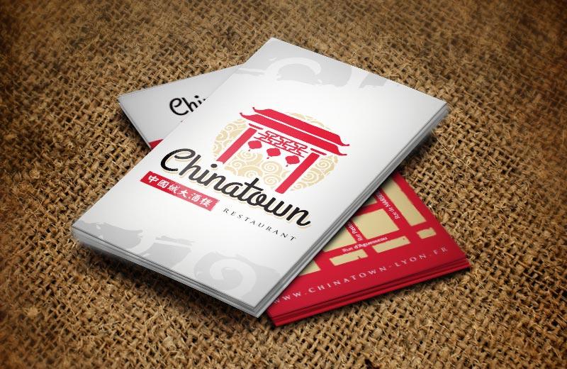 Création logo, carte de visite, restaurant à Tournus, Chalon et Mâcon