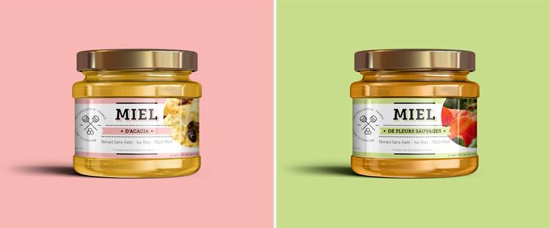 Création graphique à Mâcon : création d'étiquette produit, graphisme