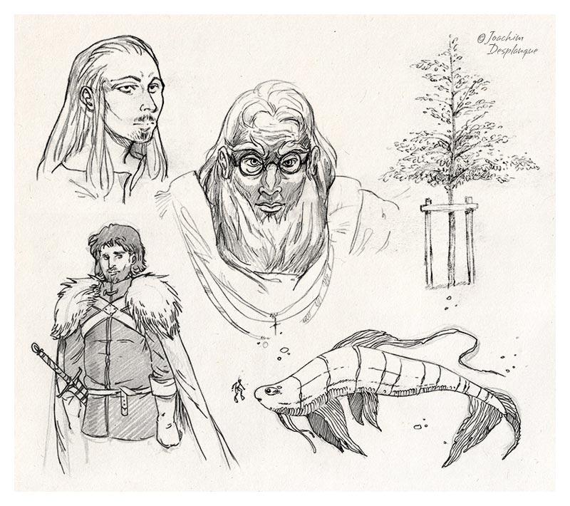 Illustrations de Joachim Desplanque, illustrateur en Saône-et-Loire