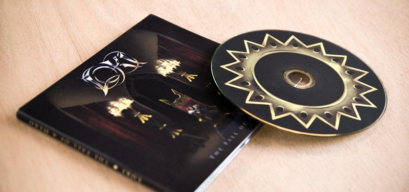 Création graphique de pochette d'album à Mâcon