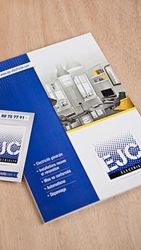 Création de brochure, plaquette d'entreprise à Mâcon