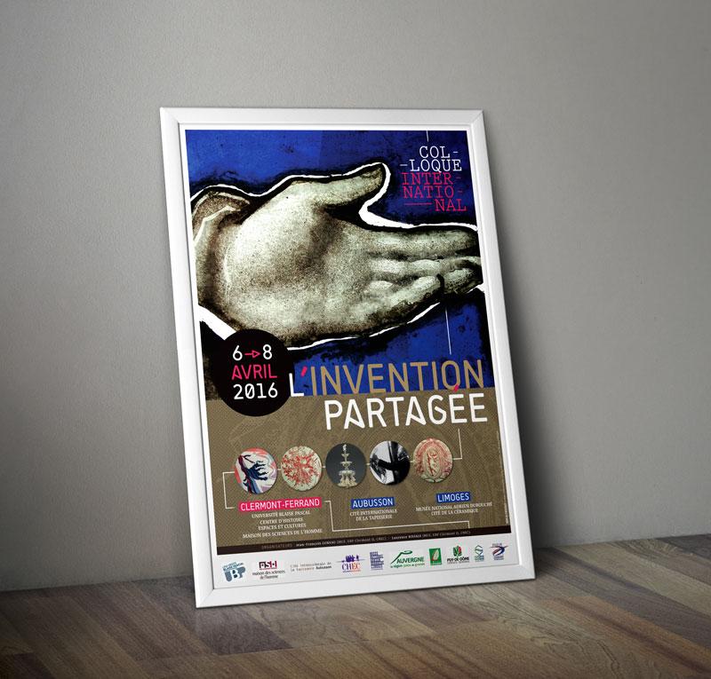 Création d'affiche en Bourgogne pour colloque