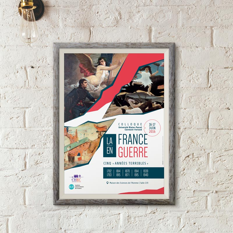 Création d'affiche à Chalon-sur-Saône